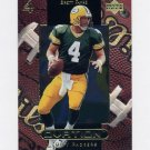 1999 Upper Deck Ovation Football #21 Brett Favre - Green Bay Packers