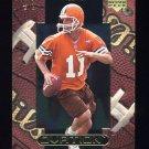 1999 Upper Deck Ovation Football #14 Ty Detmer - Cleveland Browns