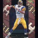 1999 Upper Deck Ovation Football #05 Tony Banks - Baltimore Ravens