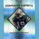 1999 Black Diamond Gallery #G6 Keyshawn Johnson - New York Jets