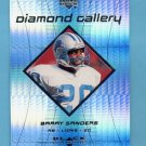 1999 Black Diamond Gallery #G2 Barry Sanders - Detroit Lions