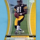 1999 Black Diamond Diamond Cut #121 Troy Edwards RC - Pittsburgh Steelers