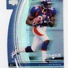1999 Black Diamond Diamond Cut #035 Shannon Sharpe - Denver Broncos