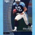 1999 Black Diamond Football #107 Yancey Thigpen - Tennessee Titans