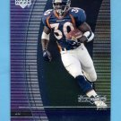 1999 Black Diamond Football #034 Terrell Davis - Denver Broncos