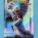 1999 Bowman Late Bloomers / Early Risers #U4 Barry Sanders - Detroit Lions