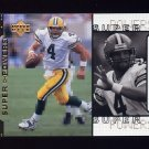 1998 Upper Deck Super Powers #S04 Brett Favre - Green Bay Packers