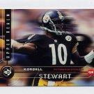 1998 UD3 Football #070 Kordell Stewart - Pittsburgh Steelers