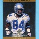 1998 SP Authentic Maximum Impact #SE14 Joey Galloway - Seattle Seahawks