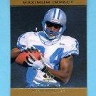 1998 SP Authentic Maximum Impact #SE05 Herman Moore - Detroit Lions