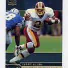 1998 SP Authentic Football #125 Terry Allen - Washington Redskins