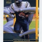 1998 SP Authentic Football #110 Natrone Means - San Diego Chargers