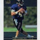 1998 SP Authentic Football #048 Jim Harbaugh - Baltimore Ravens