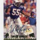 1998 Press Pass Autographs #11 Takeo Spikes RC - Cincinnati Bengals AUTO