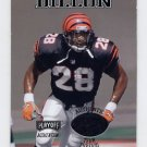 1998 Playoff Momentum Team Threads Home #06 Corey Dillon - Bengals Game-Used Jersey