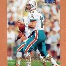 1998 Fleer Tradition Football #005 Dan Marino - Miami Dolphins