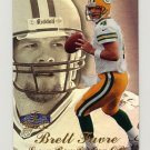 1998 Flair Showcase Row 3 #01 Brett Favre - Green Bay Packers