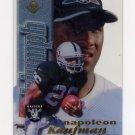 1998 Collector's Edge First Place Triumph #14 Napoleon Kaufman - Oakland Raiders