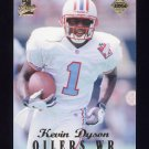1998 Collector's Edge First Place 50-Point #192 Kevin Dyson RC - Tennessee Oilers