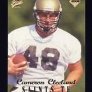 1998 Collector's Edge First Place Football #048 Cameron Cleeland RC - New Orleans Saints