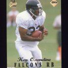 1998 Collector's Edge First Place Football #034 Ken Oxendine RC - Atlanta Falcons