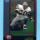 1998 Bowman Chrome Preview #BCP8 Barry Sanders - Detroit Lions
