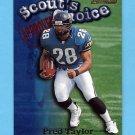 1998 Bowman Scout's Choice #SC09 Fred Taylor - Jacksonville Jaguars