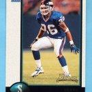 1998 Bowman Football #216 Shaun Williams RC - New York Giants