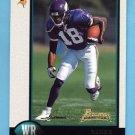 1998 Bowman Football #182 Randy Moss RC - Minnesota Vikings