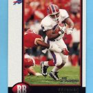 1998 Bowman Football #133 Thurman Thomas - Buffalo Bills