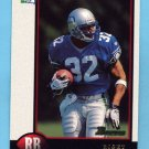 1998 Bowman Football #091 Ricky Watters - Seattle Seahawks