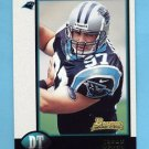 1998 Bowman Football #018 Jason Peter RC - Carolina Panthers