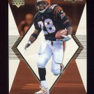 1998 Black Diamond Rookies White Onyx #ON02 Corey Dillon - Cincinnati Bengals /2250