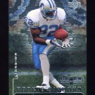 1998 Black Diamond Rookies Football #108 Germane Crowell RC - Detroit Lions
