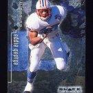 1998 Black Diamond Rookies Football #086 Eddie George - Tennessee Oilers