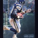 1998 Black Diamond Rookies Football #073 Natrone Means - San Diego Chargers