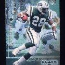 1998 Black Diamond Rookies Football #058 Curtis Martin - New York Jets