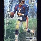 1998 Black Diamond Rookies Football #025 John Elway - Denver Broncos