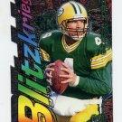 1997 Ultra Blitzkrieg Die Cuts #06 Brett Favre - Green Bay Packers