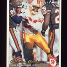 1997 Pacific Philadelphia Football #302 Donnie Abraham RC - Tampa Bay Buccaneers