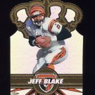1997 Pacific Gold Crown Die Cuts #06 Jeff Blake - Cincinnati Bengals
