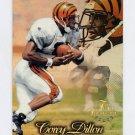 1997 Flair Showcase Row 1 #079 Corey Dillon RC - Cincinnati Bengals