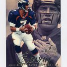 1997 Flair Showcase Row 2 #007 John Elway - Denver Broncos
