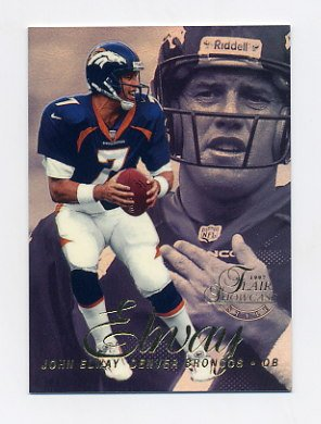 1997 Flair Showcase Row 2 #007 John Elway - Denver Broncos