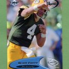 1998 Collector's Edge Odyssey Football #054 Brett Favre - Green Bay Packers