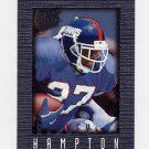 1996 Ultra Sensations Pewter #069 Rodney Hampton - New York Giants