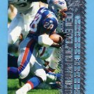 1996 Topps Laser Football #101 Curtis Martin - New England Patriots