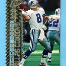 1996 Topps Laser Football #083 Troy Aikman - Dallas Cowboys