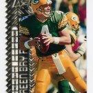 1996 Topps Laser Football #080 Brett Favre - Green Bay Packers