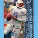 1996 Topps Laser Football #043 Steve McNair - Houston Oilers